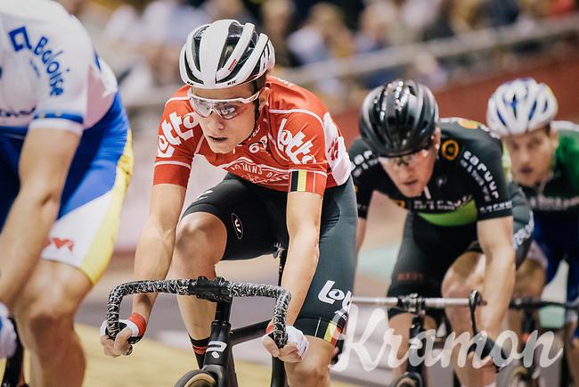 Tosh Van der Sande (BEL/Lotto-Soudal)<br /> <br /> Lotto 6daagse Vlaanderen-Gent 2018 / Gent6<br /> day 5