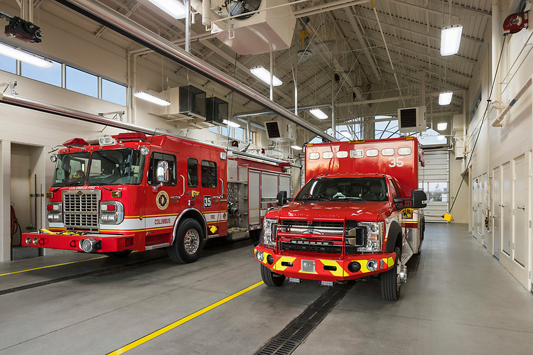 Columbus Fire Station 35 | Bruce Harris