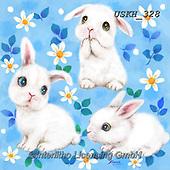 Kayomi, EASTER, OSTERN, PASCUA, paintings+++++,USKH328,#e#, EVERYDAY ,rabbits