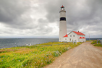 Point Amour Lighthouse, Labrador, photography based fine art