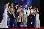 BTS, Dec 04, 2019 : BTS, 2019 Mnet Asian Music Awards (MAMA) in Nagoya, Japan on December 4, 2019. (Photo by Pasya/AFLO)