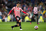 Xabier Etxeita Gorritxategi of Athletic Club in action during their La Liga match between Real Madrid and Athletic Club at the Santiago Bernabeu Stadium on 23 October 2016 in Madrid, Spain. Photo by Diego Gonzalez Souto / Power Sport Images