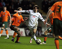 Pictured: Jordi Gomez of Swansea City in action <br /> Picture by D Legakis / Athena Picture Agency, Swansea, 07815441513
