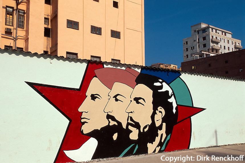 Cuba, Che Guevara auf der Zulueta in Habana