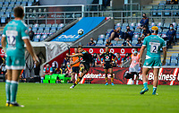 21st August 2020; Ricoh Arena, Coventry, West Midlands, England; English Gallagher Premiership Rugby, Wasps versus Worcester Warriors; Rob Miller of Wasps scores a goal during the Gallagher Premiership Rugby match between Wasps and Worcester Warriors at Ricoh Arena on August 21st 2020 in Coventry England