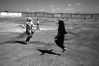 """Abazar, Luristan, October 8, 2007.About 1000 Iraki """"Fellehi"""" Kurds refugees still live in this camp, most were born there and are apatrides."""