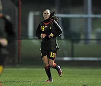 Belgium Dames U19 - selectie brabant jongens U15 :  Jassina Blom.foto DAVID CATRY / Vrouwenteam.be