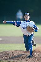 Baseball - 2009 European Championship Juniors (under 18 years old) - Bonn (Germany) - 06/08/2009 - Day 4 - Nelson Azirar (France)