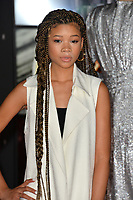 """Storm Reid at the world premiere for """"Star Wars: The Last Jedi"""" at the Shrine Auditorium. Los Angeles, USA 09 December  2017<br /> Picture: Paul Smith/Featureflash/SilverHub 0208 004 5359 sales@silverhubmedia.com"""