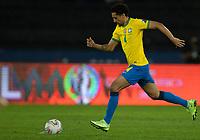 5th July 2021; Nilton Santos Stadium, Rio de Janeiro, Brazil; Copa America, Brazil versus Peru; Marquinhos of Brazil