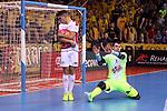 League LNFS 2018/2019.<br /> Play Off. Game: 5.<br /> FC Barcelona Lassa vs El Pozo Murcia: 3-2.<br /> Dario & Fede.
