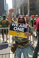 Striking Alabama Coal Miners Protest At BlackRock Offices