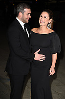 Paul Knightley and Sam Faiers<br /> arriving for the 2017 NSPCC Britain's Got Talent Childline Ball at Old Billingsgate, London<br /> <br /> <br /> ©Ash Knotek  D3315  28/09/2017