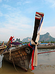 Long Tail Boats near Krabi, Thailand