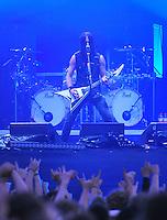 With Full Force Festival 2008 - 4.-6.7.2008  Flugplatz Roitzschjora b. Löbnitz - Das größte und breitgefächertste Metal- und Hardcorefestival in Ostdeutschland - drei Tage volle Dröhnung - über 60 Bands - Headliner in diesem Jahr u.a. Bullet for my Valentine , Machine Head , Ministry und In Flames - im Bild:  Beherrscht seine Instrumente - Stimme wie Gitarre - Matthew Tuck, der Frontman von Bullet for my Valentine..Foto: Norman Rembarz.