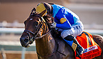July 10, 2020: Hit the Road and Umberto Rispoli win the Oceanside Stakes at Del Mar Race Track in Del Mar, California on July 10, 2020. The legendary racetrack dubbed Where The Surf Meets The Turf is facing a temporary suspension of racing after 15 jockeys tested positive for coronavirus this week. Alex Evers/Eclipse Sportswire/CSM