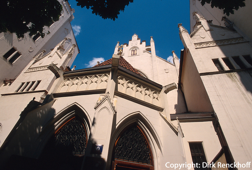 Maisel Synagoge, Prag, Tschechien, Unesco-Weltkulturerbe.