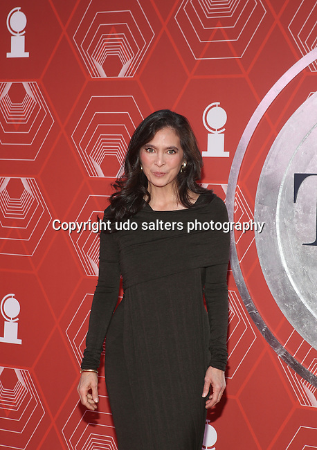 Diane Paulus attends the 74th Tony Awards-Broadway's Back! arrivals at the Winter Garden Theatre in New York, NY, on September 26, 2021. (Photo by Udo Salters/Sipa USA)