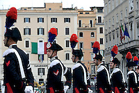 Roma, 2 Giugno 2016<br /> Carabinieri in alta uniforme.<br /> Celebrazioni e parata militare per il 70°anniversario della Repubblica italiana.<br /> Rome, June 2, 2016<br /> Celebration and military parade for the 70th anniversary of the Italian Republic