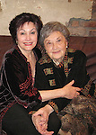Aviva Pelham and her mother Santa