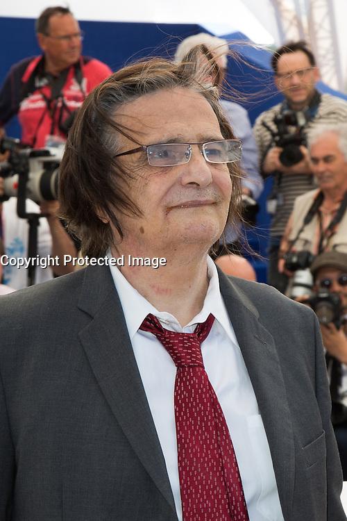 JEAN-PIERRE LEAUD - PHOTOCALL DU FILM 'LA MORT DE LOUIS XIV' - 69EME FESTIVAL DE CANNES, 19/05/2016