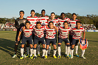 Lakewood Ranch, Fla. - December 13, 2013: 2013 US Soccer U17 Nike International Friendlies. The USMNT U17's defeated the U17's of Brazil 4-1 to win the 2013 Nike International Friendlies at the Premier Sports Campus.