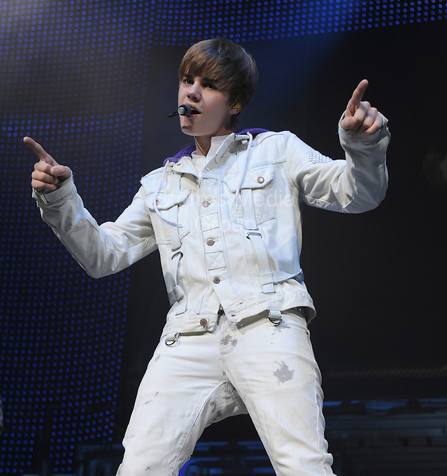 SMG_Justin Bieber_Bieber_Gomez_Split_080711_36.JPG<br /> <br /> MIAMI, FL - AUGUST 07:  (Daily UK) Young sweethearts Justin Bieber and Selena Gomez have reportedly broken up after the Disney star told Justin she didn't approve of his new hip-hop music friends. The Wizards Of Waverley Place star, who has been dating the Baby singer since the start of the year, has allegedly dumped the 17-year-old teen sensation because she is worried about the influence his new friends are having on him.<br /> In recent weeks, Justin has been spending more time publicly with Sean Kingston, rapper Lil Wayne, and singer Chris Brown who has a new song with the Canadian teenager. Chris Brown became a figure of notoriety after he attacked his ex-girlfriend Rihanna in 2009 which resulted with the Only Girl In The World singer having to go to hospital and Brown being charged with assault and making criminal threats. Lil Wayne meanwhile served eight months of a one year prison sentence in 2010 after pleading guilty to possession of a weapon. Justin has been friends with Jamaican singer Sean Kingston since they recorded the song Eenie Meenie together in April 2010 and last weekend when Justin and Sean were driving around South Beach in a Rolls Royce convertible, they were pulled over by a police officer who thought it was suspicious that two youngsters should be driving such an expensive car. Although the two boys didn't break any law and were allowed to continue driving, it is thought that Selena didn't like the attention that the incident drew to Justin. The final straw allegedly came when Justin took Sean to watch Selena perform that same weekend in Florida. A friend of Selena told the Sun newspaper: 'Selena told him to stop hanging with these bad people. She didn't want him to crash her gig. They had a huge row and said it was good they were having time apart while she was on tour.' However, Justin is said to have been devastated by her decision and was spotted in tears after one of their