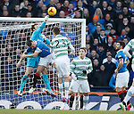 Steve Simonsen and Lee McCulloch come together