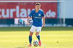 20.02.2021, xtgx, Fussball 3. Liga, FC Hansa Rostock - SV Waldhof Mannheim, v.l. Nico Neidhart (Hansa Rostock, 7) Freisteller, Einzelbild, Ganzkoerper, single frame <br /> <br /> (DFL/DFB REGULATIONS PROHIBIT ANY USE OF PHOTOGRAPHS as IMAGE SEQUENCES and/or QUASI-VIDEO)<br /> <br /> Foto © PIX-Sportfotos *** Foto ist honorarpflichtig! *** Auf Anfrage in hoeherer Qualitaet/Aufloesung. Belegexemplar erbeten. Veroeffentlichung ausschliesslich fuer journalistisch-publizistische Zwecke. For editorial use only.