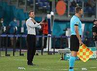 3rd July 2021, Stadio Olimpico, Rome, Italy;  Euro 2020 Football Championships, England versus Ukraine quarter final;   Andriy Shevchenko  head coach of Ukraine