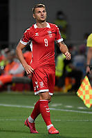 Donatas Kazlauskas of Lithuania reacts during the Qatar 2022 world cup qualifying football match between Italy and Lithuania at Citta del tricolore stadium in Reggio Emilia (Italy), September 8th, 2021. Photo Andrea Staccioli / Insidefoto