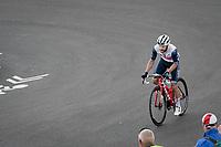 Julien Bernard (FRA/Trek - Segafredo) coming over the Mont Ventoux<br /> <br /> Stage 11 from Sorgues to Malaucène (199km) running twice over the infamous Mont Ventoux<br /> 108th Tour de France 2021 (2.UWT)<br /> <br /> ©kramon