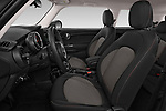 Front seat view of a 2019 Mini MINI One 3 Door Hatchback front seat car photos
