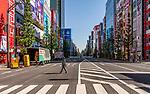 Early morning in Akihabara, Tokyo, Japan