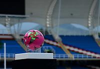 CALI - COLOMBIA, 17-10-2021: Atlético F.C. y Boca Juniors de Cali en partido por la fecha 13 del Torneo BetPlay DIMAYOR II 2021 jugado en el estadio Pascual Guerrero de la ciudad de Cali. / Atletico F.C. and Boca Juniors de Cali in match for the date 13 as part of BetPlay DIMAYOR Tournament II 2021 played at Pascual Guerrero stadium in CaliAtlético F.C. y Boca Juniors de Cali en partido por la fecha 13 del Torneo BetPlay DIMAYOR II 2021 jugado en el estadio Pascual Guerrero de la ciudad de Cali. / Atletico F.C. and Boca Juniors de Cali in match for the date 13 as part of BetPlay DIMAYOR Tournament II 2021 played at Pascual Guerrero stadium in Cali. Photo: VizzorImage / Gabriel Aponte / Staff