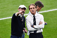 11th July 2021; Wembley Stadium, London, England; 2020 European Football Championships Final England versus Italy; Gianluca Vialli and Roberto Mancini