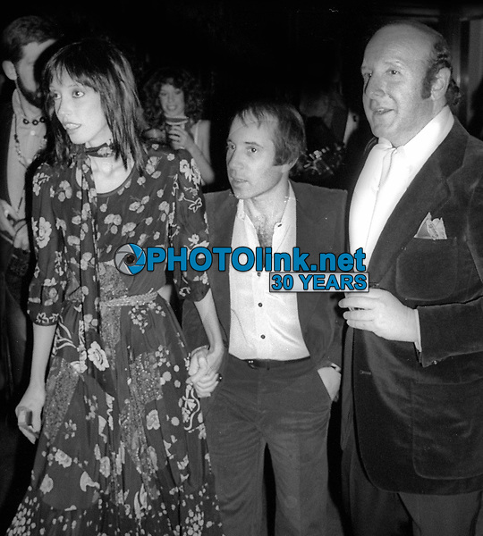 1978 FILE PHOTO<br /> New York City<br /> Shelley Duvall Paul Simon Clive Davis at Studio 54<br /> Photo by Adam Scull-PHOTOlink.net
