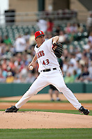 June 2, 2007:  John Wasdin of the Indianapolis Indians at Victory Field in Indianapolis, IN.  Photo by:  Chris Proctor/Four Seam Images