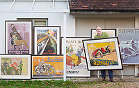 Remarkable single owner collection of 140 vintage posters has emerged for sale for £400,000.
