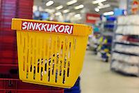 Espoo, Finlandia.Finland.<br /> Cestino per single.Basket for singles.
