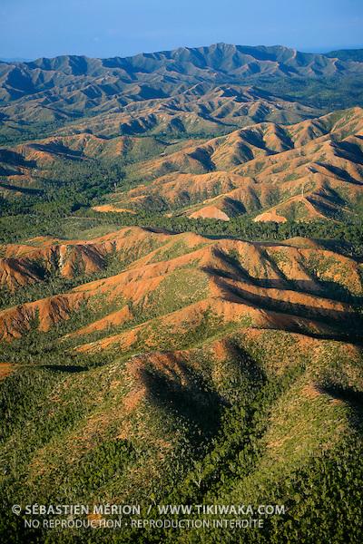 Montagnes du Nord, région de Poum, Nouvelle-Calédonie