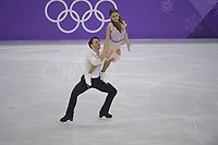 OLYMPIC GAMES: PYEONGCHANG: 20-02-2018, Gangneung Ice Arena, Figure Skating, Ice Dance Free Dance, Kavita Lorenz and Joti Polizoakis (GER), ©photo Martin de Jong