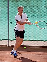 August 24, 2014, Netherlands, Amstelveen, De Kegel, National Veterans Championships, Dennis Bank (NED)<br /> Photo: Tennisimages/Henk Koster
