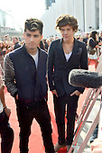 ONE DIRECTION - L-R: Liam Payne, Louis Tomlinson, Niall Horan, Zayn Malik, Harry Styles - red carpet arrivals at the BBC RADIO 1 TEEN AWARDS 2012 held at Wembley Arena in London Uk - 07 Oct 2012. .Photo credit: George Chin/ AtlasIcons.com