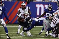 RB Brandon Bolden (Patriots) gegen DT Linval Joseph (Giants)