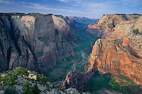 Angels Landing and Zion Canyon<br />