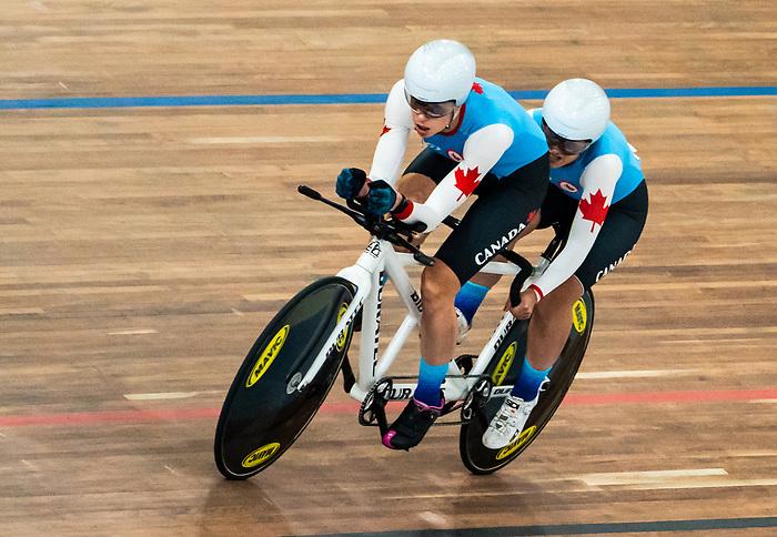 Carla Shibley and Meghan Lemiski - Lima 2019. Para Cycling // Paracyclisme.<br /> Carla Shibley and Meghan Lemiski compete in Para Cycling // Carla Shibley and Meghan Lemiski participent au paracyclisme. 27/08/2019.