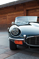 BNPS.co.uk (01202 558833)<br /> Pic: RMSothebys/BNPS<br /> <br /> Last of the famous line...<br /> <br /> The final E-Type Jaguar, that rolled out of the factory in 1974, after 13 years of continuous production has emerged for sale for £140,000.<br /> <br /> The soft-top was built in 1974 and was the last E-Type to be made by Jaguar aside from their 50 special commemorative cars from 1975.<br /> <br /> The motor is a rare Series III V12 roadster and remains in pristine original condition - just like it did when it left the factory 43 years ago.<br /> <br /> It has been with its current owner, since 1994 and he has largely kept it at his holiday home in Hawaii.<br /> <br /> The two-door has been consigned to sale with auctioneers RM Sotheby's.