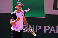 30th May 2021; Roland Garros, Paris, France; French Open Tennis championships, day 1;  Enzo Couacaud Fra