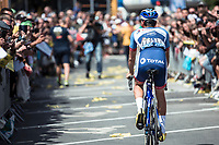 Fabien Grellier (FRA/Total - Direct Energie) pre race<br /> <br /> Stage 4: Reims to Nancy (215km)<br /> 106th Tour de France 2019 (2.UWT)<br /> <br /> ©kramon